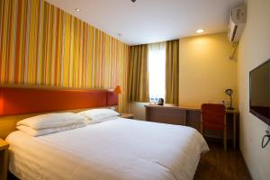 Home Inn Dalian Railway Station South Square Huanghe Road, Отели  Далянь - big - 18