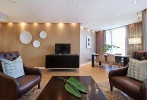 行政两卧室公寓