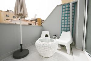 Áticos Soho GrupalMalaga, Apartmány  Málaga - big - 4