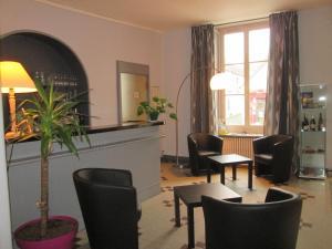 Logis Hostellerie Du Cheval Blanc, Отели  Сент-Мор-де-Тур - big - 23