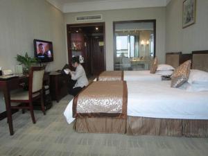 Shandong Jindu Hotel, Отели  Цзинань - big - 11