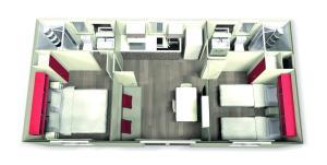Mobile Homes Camping Biograd, Villaggi turistici  Biograd na Moru - big - 11