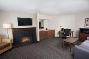 King Room with Fireplace - Non-Smoking