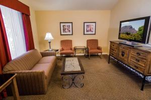 Suite med king-size-seng og sovesofa - røykfri