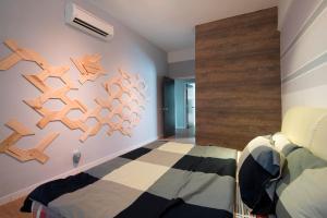 One Sky Apartment, Апартаменты  Байан-Лепас - big - 24