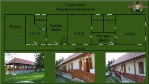 Öreg Bence Háza, Appartamenti  Füzérkomlós - big - 13