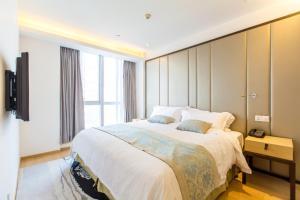 Huanqiu 188 International Apartment, Apartmány  Suzhou - big - 20