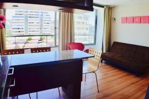 Apartamentos Premium Capital Casino Viña del Mar, Apartmány  Viña del Mar - big - 6