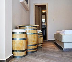 Plastiras Rooms, Penziony  Fira - big - 14