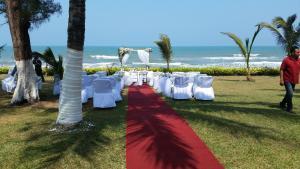 Hotel y Balneario Playa San Pablo, Отели  Monte Gordo - big - 112