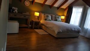 Ettromsleilighet med queen-size-seng