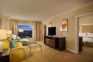 Apartament typu Deluxe z balkonem i widokiem na park Disneya