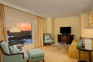 迪斯尼景观带阳台的一卧室套房