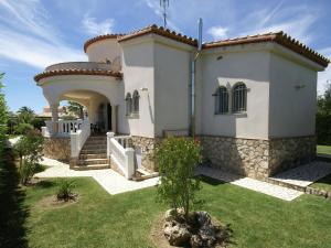 Villa Tina, Villák  L'Ampolla - big - 14