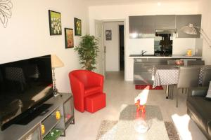 Appartement Le Chantilly 3, Apartmanok  Cagnes-sur-Mer - big - 8
