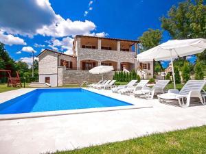 Villa Vernier, Виллы  Tinjan - big - 10