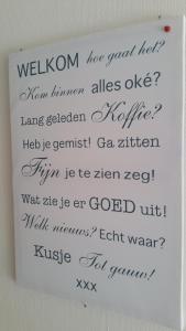 Appartement ZEEDUIN - Amelander Kaap, Appartamenti  Hollum - big - 61