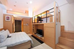 O2 Hotel - Ximen Branch, Apartmanok  Tajpej - big - 20