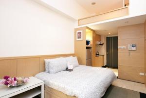 O2 Hotel - Ximen Branch, Apartmanok  Tajpej - big - 17