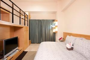 O2 Hotel - Ximen Branch, Apartmanok  Tajpej - big - 15