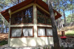 Cabana en el bosque con 3 Recamaras