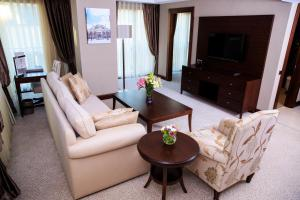 Apartmá se 2 ložnicemi a rozkládací pohovkou