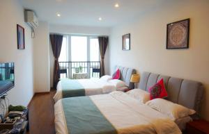 Chongqin Rongshuxia Youpin Apartment, Apartments  Chongqing - big - 10