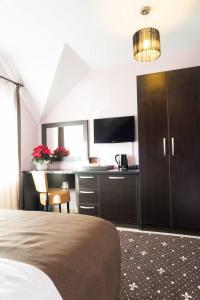 Pridvorul Haiducilor, Hotely  Tîrgu Ocna - big - 13