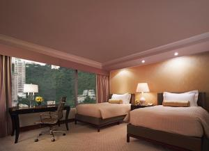 Executive Peak View Twin Room with Lounge Access