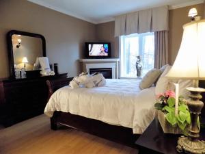 Comfort Queen Room with Fireplace