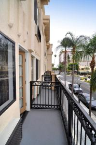 Double Room with Two Double Beds and Balcony