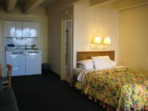 Queen Bed with Sleeper Sofa, Ocean View and Kitchenette