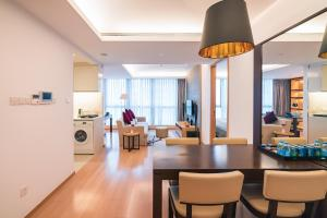 The Pushi Global 188 Serviced Apartment, Apartmány  Suzhou - big - 15