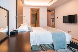 The Pushi Global 188 Serviced Apartment, Apartmány  Suzhou - big - 31