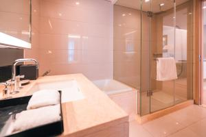 The Pushi Global 188 Serviced Apartment, Apartmány  Suzhou - big - 35