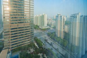 The Pushi Global 188 Serviced Apartment, Apartmány  Suzhou - big - 40