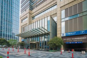 The Pushi Global 188 Serviced Apartment, Apartmány  Suzhou - big - 42