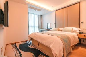The Pushi Global 188 Serviced Apartment, Apartmány  Suzhou - big - 43