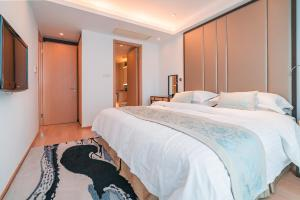 The Pushi Global 188 Serviced Apartment, Apartmány  Suzhou - big - 24