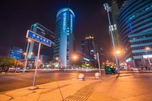 The Pushi Global 188 Serviced Apartment, Appartamenti  Suzhou - big - 52