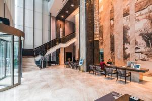 The Pushi Global 188 Serviced Apartment, Apartmány  Suzhou - big - 67