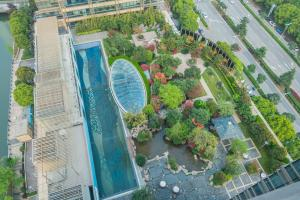 The Pushi Global 188 Serviced Apartment, Apartmány  Suzhou - big - 68