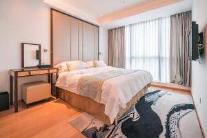 The Pushi Global 188 Serviced Apartment, Apartmány  Suzhou - big - 25