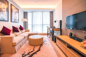 The Pushi Global 188 Serviced Apartment, Apartmány  Suzhou - big - 6