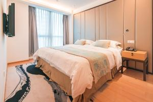 The Pushi Global 188 Serviced Apartment, Apartmány  Suzhou - big - 22