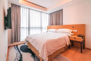 The Pushi Global 188 Serviced Apartment, Apartmány  Suzhou - big - 10