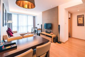 The Pushi Global 188 Serviced Apartment, Apartmány  Suzhou - big - 3