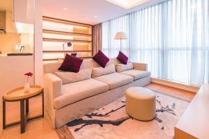 The Pushi Global 188 Serviced Apartment, Appartamenti  Suzhou - big - 18
