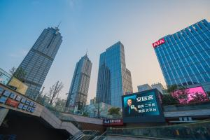 The Pushi Global 188 Serviced Apartment, Apartmány  Suzhou - big - 83
