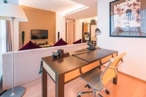 The Pushi Global 188 Serviced Apartment, Apartmány  Suzhou - big - 17